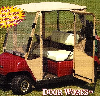DOORS FOR GOLF CARTS STAY WARM THIS WINTER