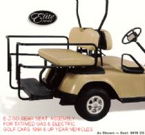 E-Z-GO REAR SEAT KITS