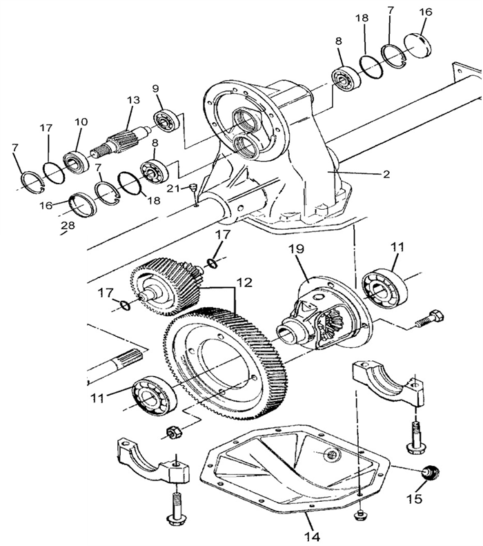 Ez Go Rear Axle Diagram