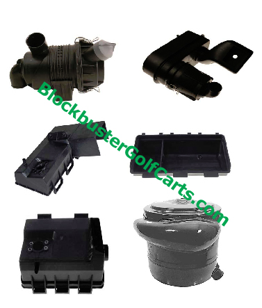 EZGO Gasloine Intake And Filter Boxes