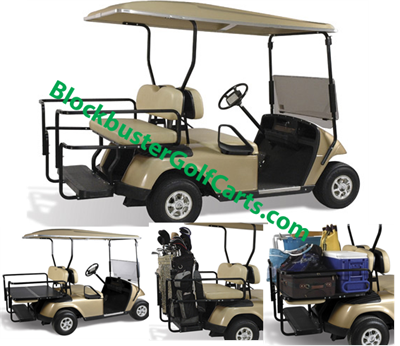 EZGO Golf Cart Rear Seat Assemblies