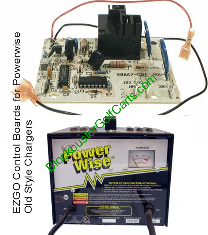 club car 36v battery charger wiring diagram control board e-z-go golf cart powerwise chargers (most ...