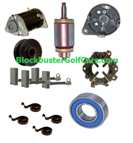 Club Car Golf Cart Starter Generators & Parts