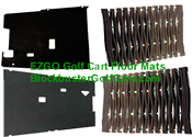 EZGO Golf Cart Floor Mats