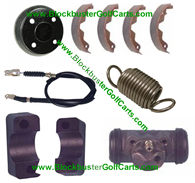 Brakes Cables, Shoes, Drum & Other Parts-Club Car