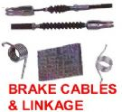 BRAKE CABLES  & LINKAGE PARTS