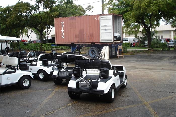 Club Car DS Golf Carts Export