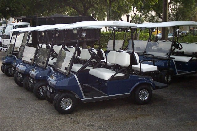 CLUB CAR EXPORT GOLF CARTS