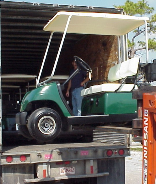 YAMAHA EXPORT GOLF CARTS