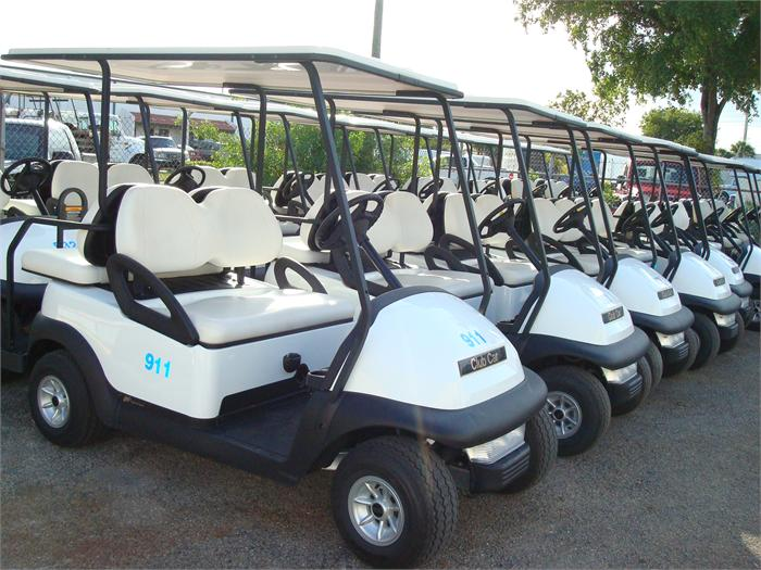 CLUB CAR PRECEDENT FLEET GOLF CARS