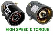 Series High Speed/Torque EZGO Electric Motors