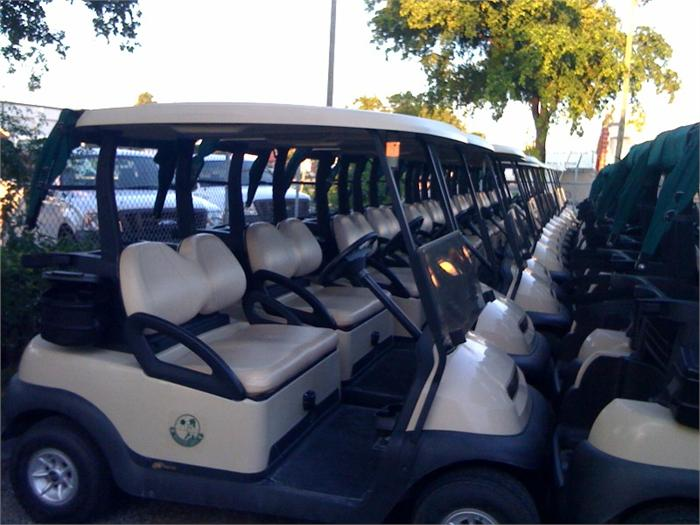 CLUB CAR USED GOLF CARTS