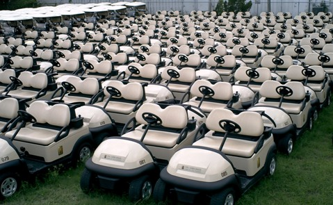 CLUB CAR Fleet Golf Cars For Sales