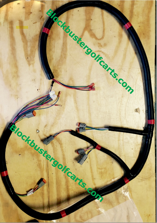 Remarkable Wire Harness Complete Club Car Model Ds Iq Systems 2000 Up Wiring Cloud Hisonuggs Outletorg