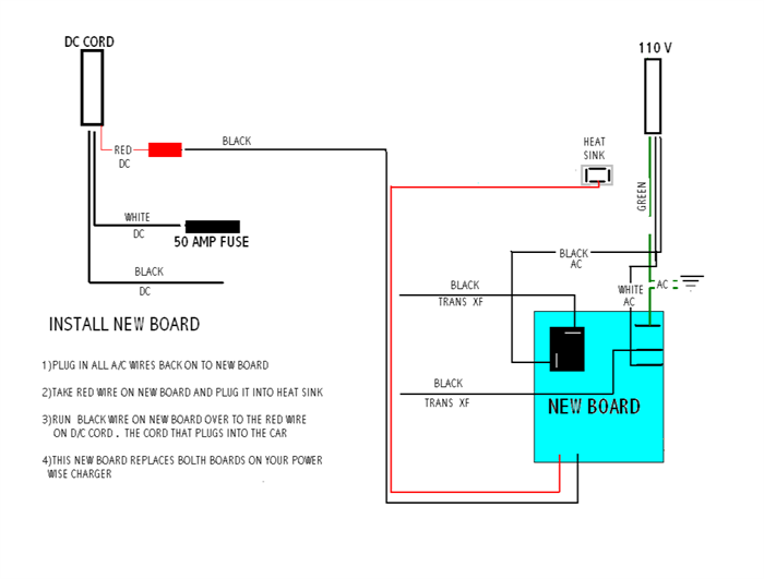 Power Wise Charger Wiring Diagram