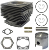 Engine Rebuild Kit Top End Cylinder-Piston E-Z-GO 2 Cycle Gas Model 1980 to 1988