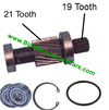 ezgo parts input shafts