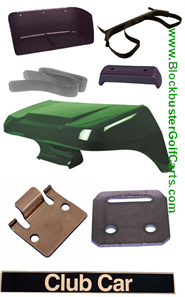 CLUB CAR GOLF CAR BODY AND TRIM PARTS